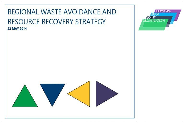 Regional waste avoidance and resource recovery strategy