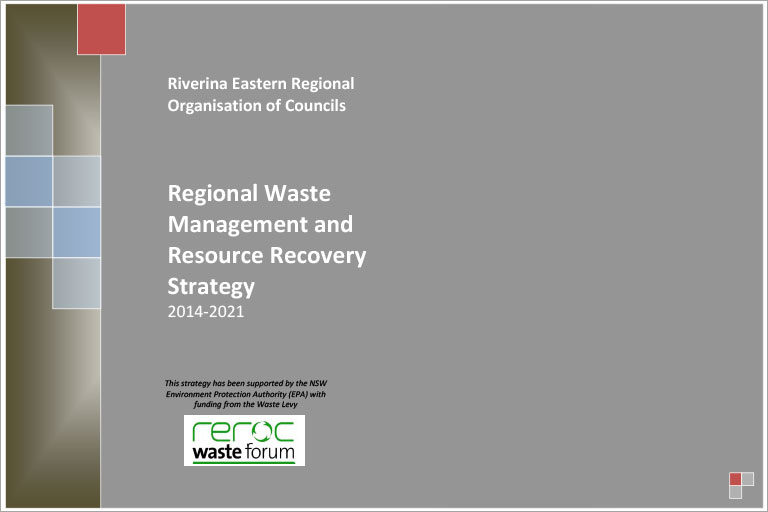 REROC Regional Waste Management and Resource Recovery Strategy 2014-2021